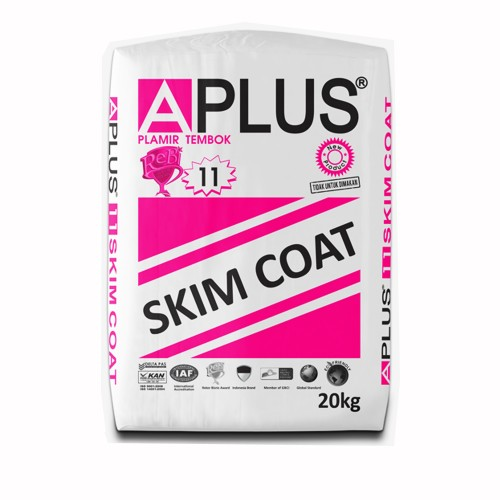 http://www.tokoaplus.com/foto_products/Aplus 11 - Skimcoat Putih 20kg